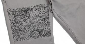 Mahasamut Pattern Chino Pants