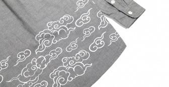 "Herringbone Shirts ""Cloud Flow"""