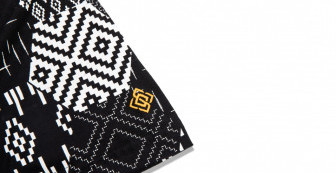 """Wing Tee """"Honeycomb Woven Pattern"""""""