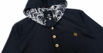 """Kimhunt Hoodies """"Lotus Woven Pattern"""""""