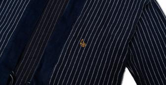 Indigo Tweed Kimono Jacket