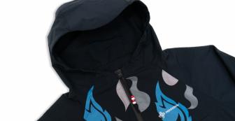 Flame Windbreaker Jacket