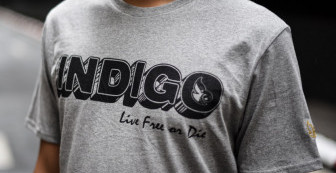 "Indigoskin Tee ""Indigo Comic"""