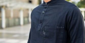 Mysterious Collarless Shirt