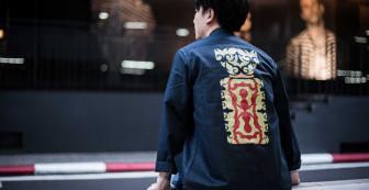"Indigoskin East Jacket ""Ainu Spirit"""
