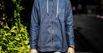 Indigoskin Denim Hooded Shirts