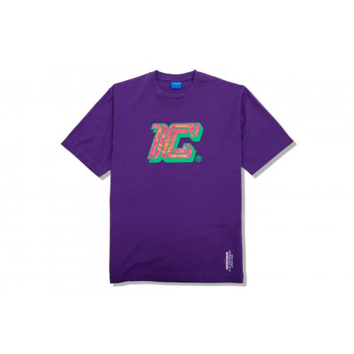 """Carnival x Indigoskin Tee """"1C"""" (Purple)"""