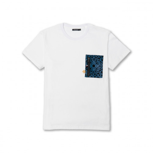 "Pocket Tee ""TWF""  (White)"