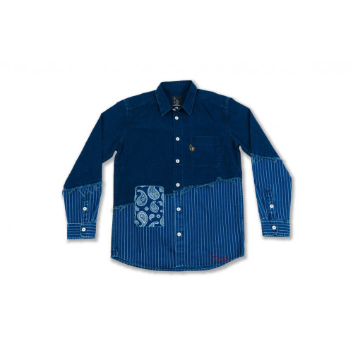 Indigo Slash Shirts