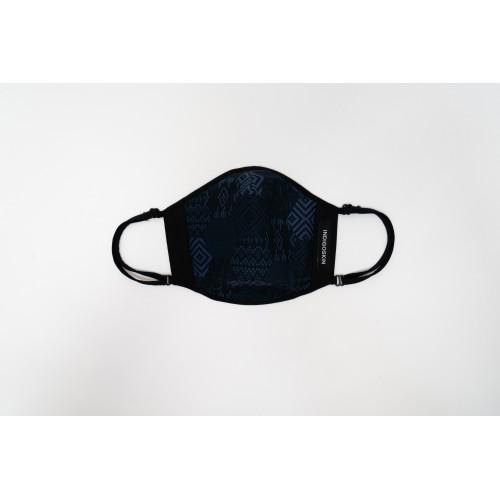 "Cover Mask ""Woven Pattern""(Purple Blue)"