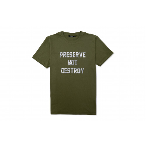 Preserve Not Destroy Tee (Green)