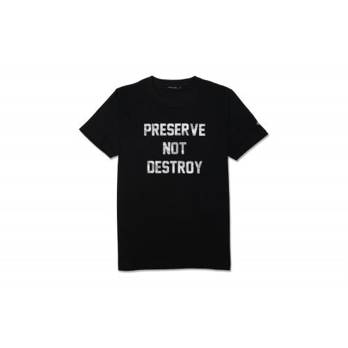 Preserve Not Destroy Tee (Black)