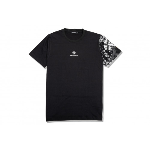 "Wing Tee ""Honeycomb Woven Pattern"""