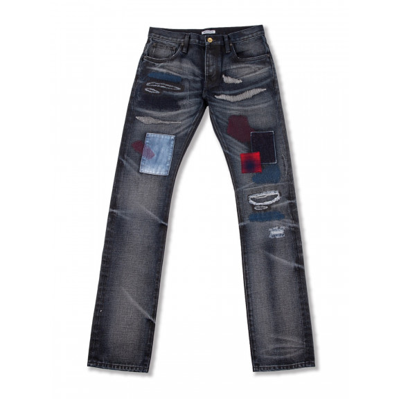 "Washed Jeans ""Firecracker"""